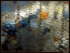 Water-art (kissss) Tags: reflection water agua bilbao reflejo euskalduna thegallery abigfave outstandingshot impressedbeauty