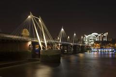Hungerford Bridge (PeteWilliams) Tags: city uk bridge winter england urban london thames night canon river geotagged 300d canon300d riverthames canoneos300d hungerfordbridge railwaybridge railbridge 22mm