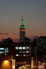 Empire State (Afulki) Tags: sunset newyork nikon d70s 2006 queens portfolio sunnyside 70200mmf28gvr afulki