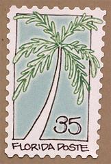 Artistamp: Florida Poste (renmeleon) Tags: art moleskine journal reporter ria artistamps renmeleon renfolio