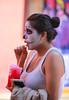 Catrina en Coyoacan 106 (L Urquiza) Tags: catrina girl make up coyoacán mexico city ciudad cdmx candid dia de los muertos