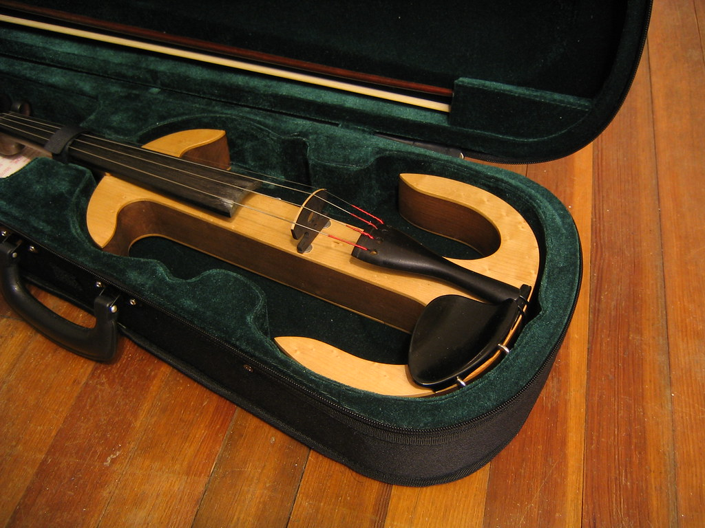 Electric violin case mod 013