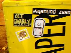 Dazed, Melvind &  Ground Zero slaps in Federal Hill (danielle_blue) Tags: street sticker baltimore groundzero dazed federalhill melvind stickertrades