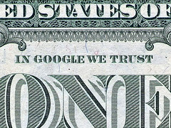 In Google We Trust (imagen del álbum en Flickr de Sonicbloom