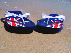 Australia Day wishes! (Thiru Murugan) Tags: windows holiday macro beach relax freedom live australia landing thongs microsoft vista australiaday southaustralia australie murugan nationalday 1788 sydneycove photocompetition thiru jan26th jan26 abigfave thirumurugan lookupandsmile 26jan2007 jan26th2007 thiruflickr