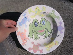 Pre-firing Frog Bowl