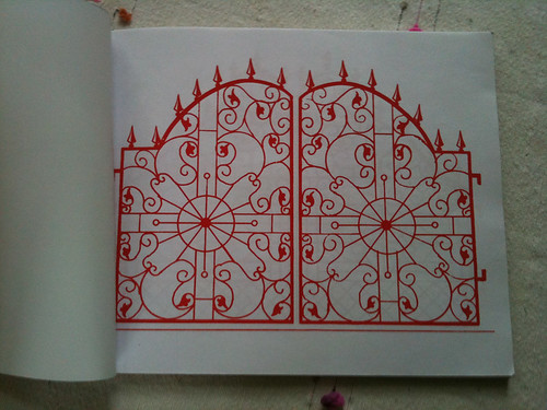screenprint gate