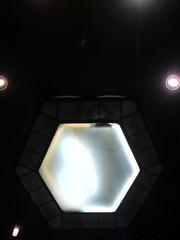 hexagon (AnnabelB) Tags: light art ufo hexagon adelphi artdeco deco phew nobeeshere nopentagramhere noexperimentionhere