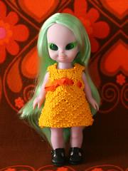 Embla (Helena / Funny Bunny) Tags: doll blythe 1972 embla olds funnybunny emeraldwitch fbfashion