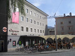 Republic cafe in Salzburg