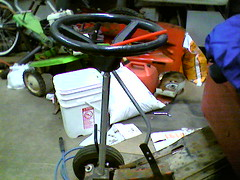 steering and shifter (gearstixcycles) Tags: lawn mower