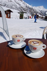 Coffee (lelle.nl) Tags: snow coffee espresso illy