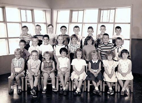 Kindergarten class 1957