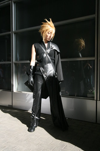 Final Fantasy Cloud Strife Cosplay Fotos