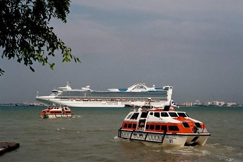 Viajando en Bote desde Penang