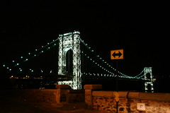 George Washington Bridge, NYC (xtreeem) Tags: newyork georgewashingtonbridge