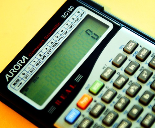 calculator negotiate English