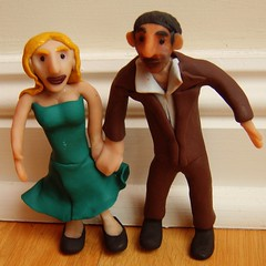 Sonja and Oliver (0olong) Tags: wedding sculpture couple fimo human figurines sculpey commission voodoodolls cermicaplstica fergusraymurray 0olong