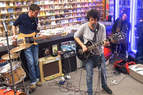 Julie Doiron live! in-store performance at Music Trader on October 26 2006