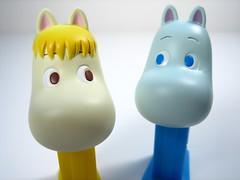 Snorkmaiden & Moomin (WEBmikey) Tags: pez japan toys moomin