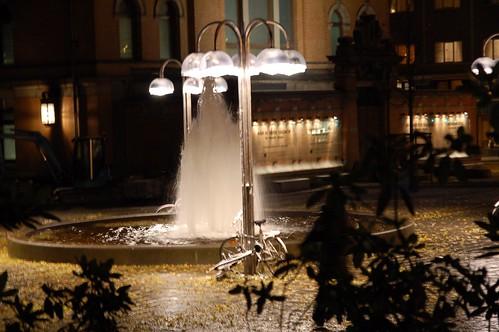 sykkel fontene nasjonalteateret