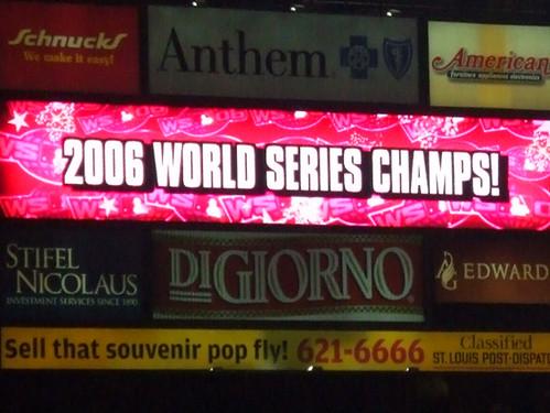 2006 world series winner and