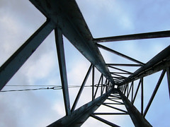 Axis Mundi ([ Petri ]) Tags: abstract focus steelstructure electricpylon criticismwelcome