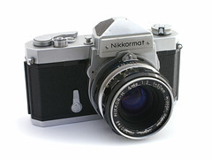 camera slr 35mm nikon collection nikkormat ftn