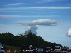 strange cloud ( patric shaw) Tags: sky clouds bluesky mushroomcloud patricshaw patricshaw2007