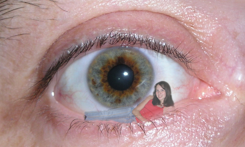 La niña de mi ojo