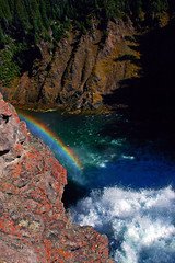 Yellowstone Falls Foambow (Fort Photo) Tags: nature river landscape rainbow nikon rocks nps 2006 foam yellowstonenationalpark yellowstone wyoming yellowstoneriver yellowstonefalls specland specnature abigfave bestnaturetnc06