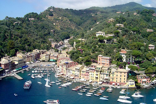 View of Portofino, Italy by
