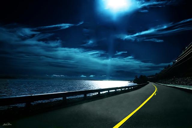 Evening Road 16