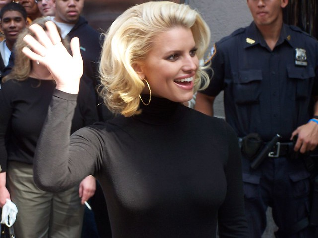 Jessica Simpson, on 6th Ave by DennisInAmsterdam