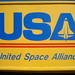 United Space Alliance... in Arial