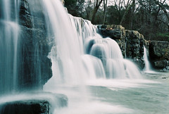 Natural Dam Falls (***TR.iPod) Tags: watr tripodfallswaterfallsarkansasozarkfallnaturaldamisawyoufirsttripodphotosnikonstunninggallerywww