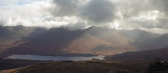 Loch Tulla and the Glen Orchy Hills from Stob a'Choire
