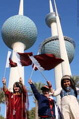 Doha 2006 Olympic Flame In Kuwait (Ammar Alothman) Tags: sports sport canon fire interesting asia flickr gulf calendar 2006 explore flame kuwait olympic olympics ammar kuwaitcity kw doha qatar q8 olympicflame 30d  canon30d doha2006  ammaralothman 3mmar  15thasiangames olympicflameinkuwait   kuwaitvoluntaryworkcenter   hawaalrayyanfav