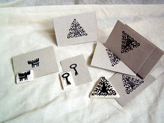 stamps (Irina Troitskaya) Tags: tree ink print key handmade postcard moose stamp card elk