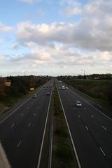 The A2, from Dartford Heath, looking south (davepatten) Tags: road cars kent a2 dartford