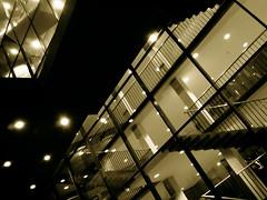 lights attack (*helmen) Tags: cameraphone light topv111 architecture night stairs phonecam camphone construction europe republic czech library sonyericsson cellphone cybershot mobil nobody nopeople brno czechrepublic impressive k800i excelent mzk k800
