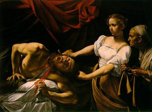 Caravaggio. Judith Beheading Holofernes