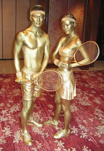 Gold Body Paint Pics