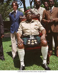 Idi Amin and his closest advisors. (foxsearchlightphotos) Tags: foxsearchlight lastkingofscotland