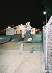 Hugz Not Drugz (onelungbreathin) Tags: fly flying hugging nightshot skateboarding air skating joy happiness skatepark skate midair grab embrace sk8 embracing nikonn50 sk8ing sk8boarding gardencitysc midaircollision njcphotography