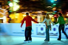 Skating (fensterbme) Tags: nightphotography winter friends ohio interestingness dof iceskating skating columbusohio panning christmastime statehouse fensterbme skateonstate ohiostatehouse interestingness110 i500 explore29nov06