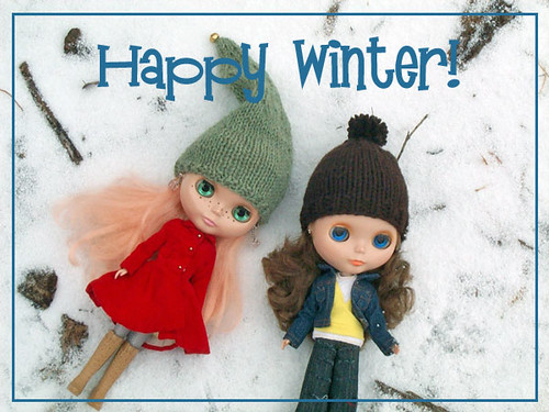 Happy Winter! by paperspirit.