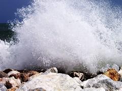 Splash (trondjs) Tags: travel summer espaa beach water interestingness spain bravo waves kodak archive explore costadelsol fuengirola eyecatcher cx7530 fav10 10faves interestingness453 i500 trondjs