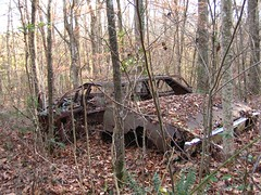 Slightly used, 4-door (laura.bell) Tags: thanksgiving november abandoned home car alabama 2006 cy stflorian cy2 challengeyouwinner