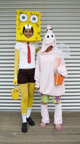 Sponge bob costume 4